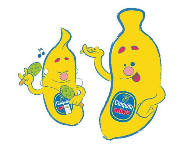 mini characters Chiquita