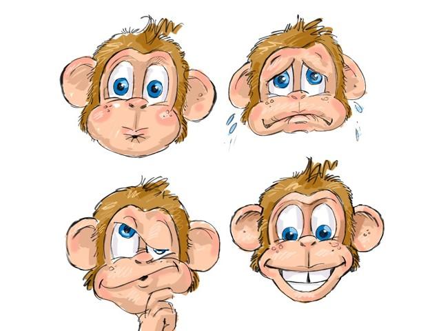 Schets character chiquita